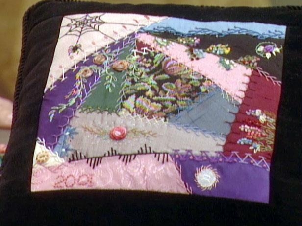 Modern victorian crazy quilt blocks diy 9 Elegant Crazy Patch Quilt Pattern