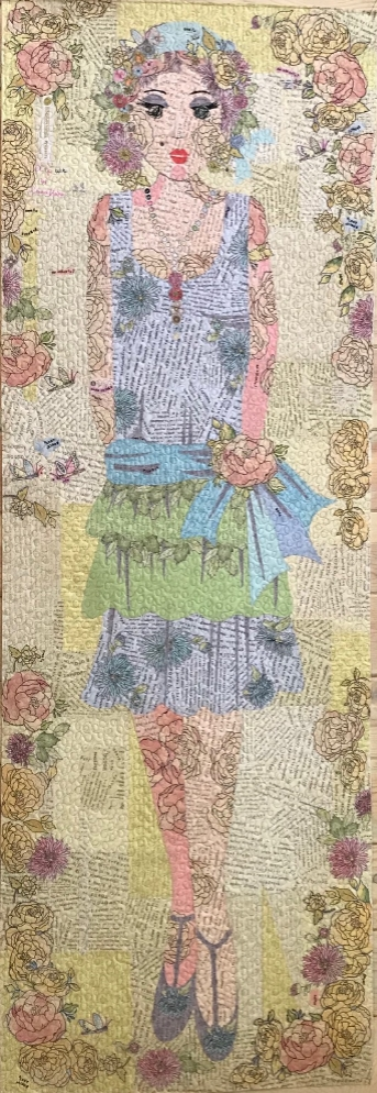 Modern wholesale daisy fey collage quilt pattern 680599139208 11 Stylish Wholesale Quilt Patterns Gallery