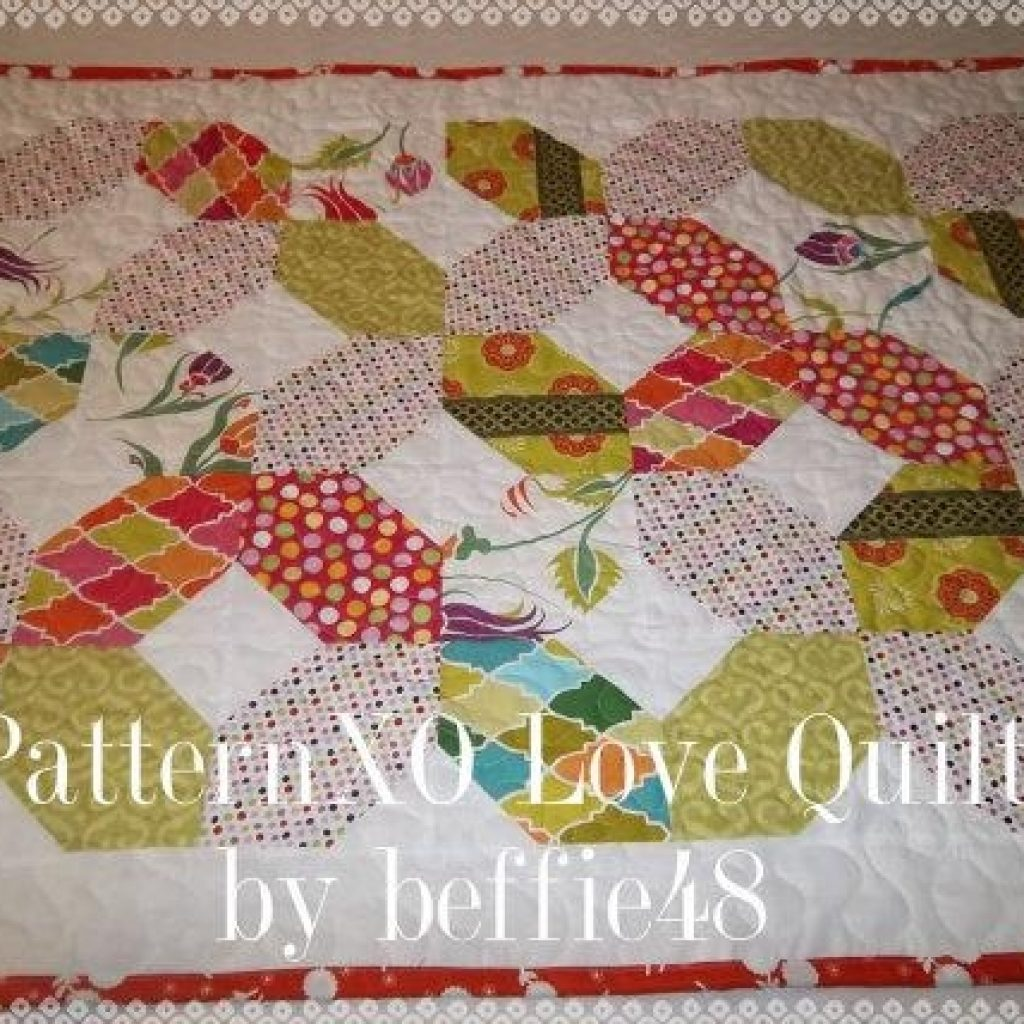 Modern xo hugs and kisses quilt pattern tutorial with photos pdf 11 Interesting Hugs And Kisses Quilt Pattern Inspirations