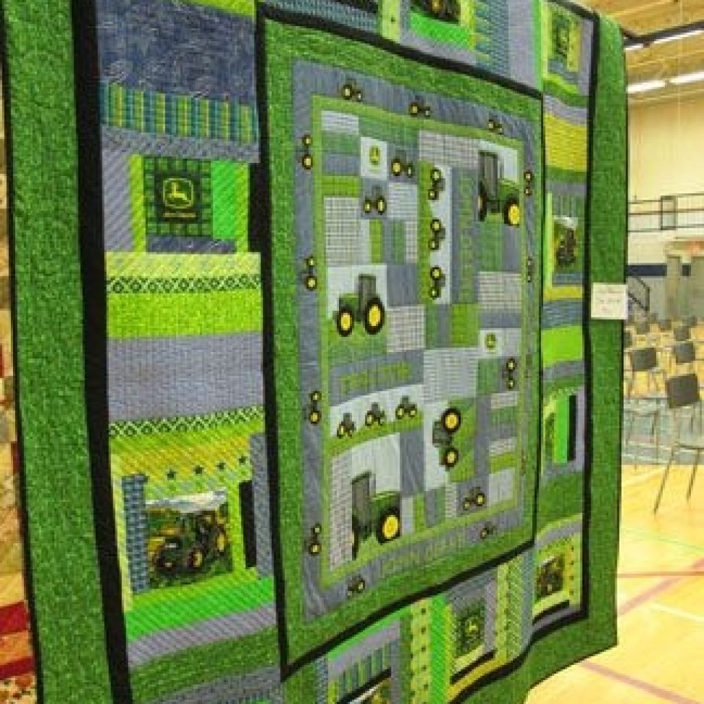 New 90 tractor quilt ideas in 2020 tractor quilt quilts 11 New John Deere Quilt Patterns Gallery