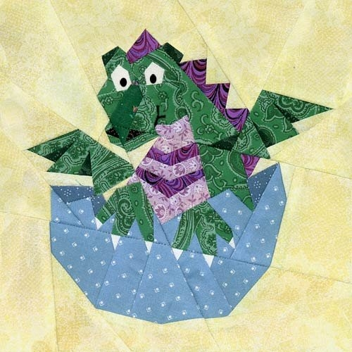 New ba dragon paper pieced quilt pattern 9 Modern Dragon Quilt Patterns Inspirations