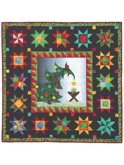 New christmas morning delight wall hanging pattern 11 Interesting Quilt Wall Hanging Patterns