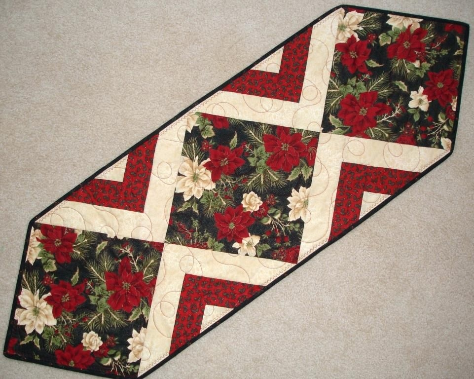 New christmas table runner patterns to quilt easy crochet free 10 Stylish Easy Quilted Table Runner Patterns Inspirations