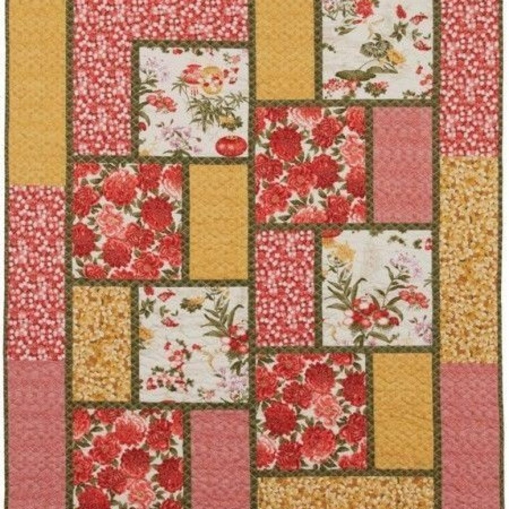 New cool quilt patterns for large print fabrics inspiration in 10   Quilt Patterns For Large Print Fabrics Inspiration Inspirations