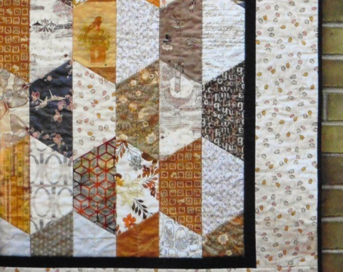 New craftsman quilt pattern craftsman quilts quilts quilt 10   Quilt Patterns For Large Print Fabrics Inspiration Inspirations