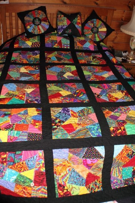 New crazy quilt block quilt crazy quilts patterns crazy Crazy Quilt Patterns Ideas Inspirations