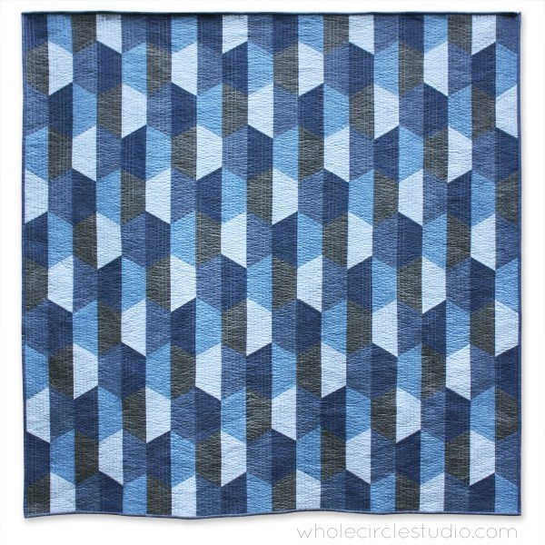 New hexie blues quilt pattern pdf download wholecirclestudio 11 Beautiful Modern Quilt Patterns Inspirations