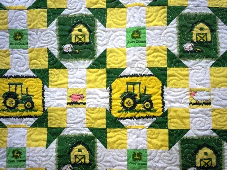New kit john deere ba quilt 38 x 38 1497022273 11 New John Deere Quilt Patterns Gallery