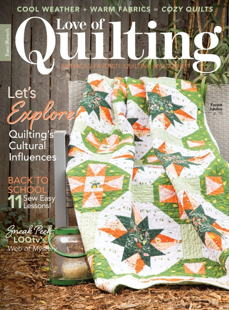 New love of quilting septemberoctober 2020 digital issue 11 Cool Sew Let'S Quilt It Inspirations