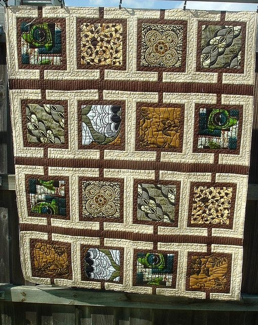 New pin the hoffman challenge on inspiration african quilts 10   Quilt Patterns For Large Print Fabrics Inspiration Inspirations
