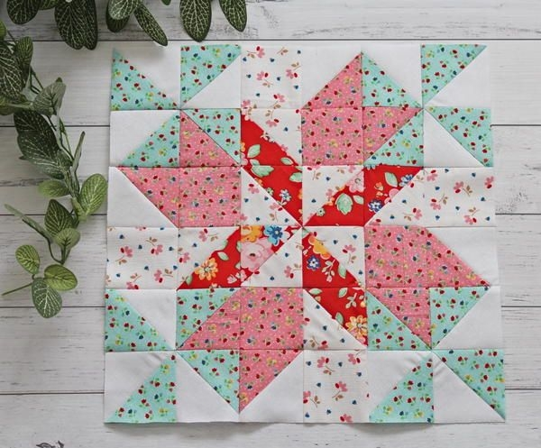 New spring breeze 12 inch quilt block pattern in 2020 quilt 11 Modern 12 In Quilt Block Patterns Gallery