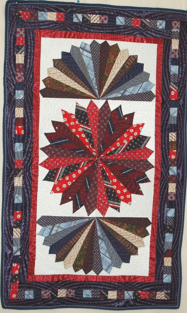 New tie quilts rhino quilting 360 213 7019 11 Elegant Necktie Quilt Ideas Inspirations