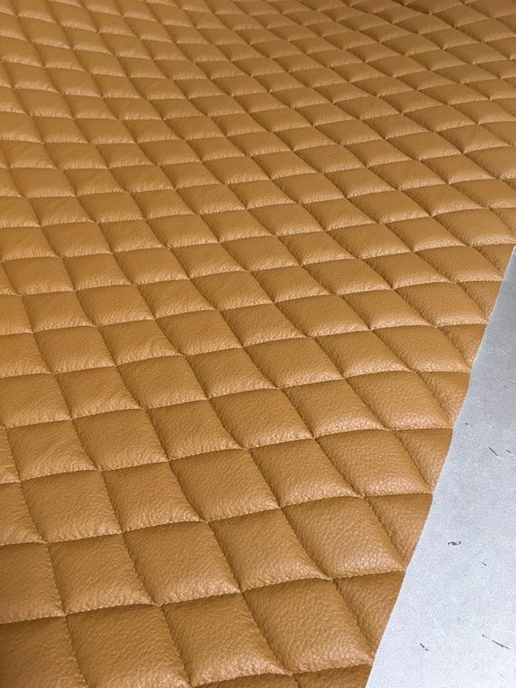 New vinyl leather faux vinyl desert quilted vinyl auto headliner headboard fabric with 38 foam backing upholstery 54 wide Interesting Vinyl Quilted Fabric Gallery