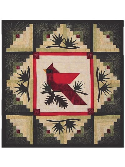 New winters majesty wall hanging pattern 11 Interesting Quilt Wall Hanging Patterns