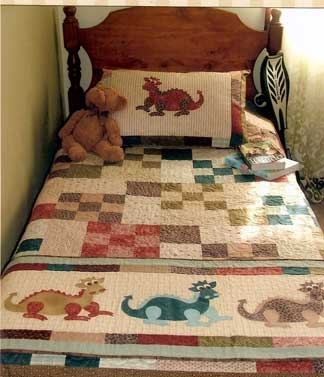 Stylish daring dragons the birdhouse quilt 9 Modern Dragon Quilt Patterns Inspirations