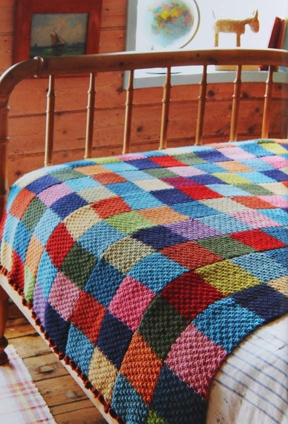 Stylish getting stitched on the farm jane brockets gentle art of 11 Stylish Patchwork Quilt Knitting Pattern