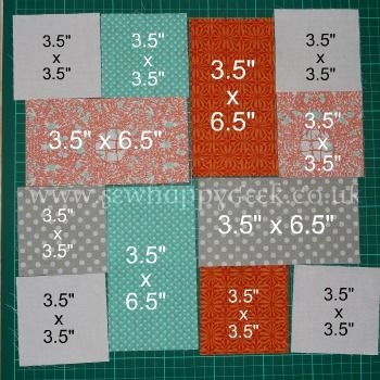 Stylish hmm good scrap quilt project use up random fabrics and 9 Cool Easy Beginner Block Quilt Patterns Inspirations