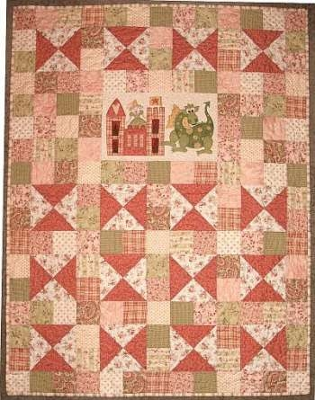 Stylish princess the dragon the birdhouse quilt 9 Modern Dragon Quilt Patterns Inspirations