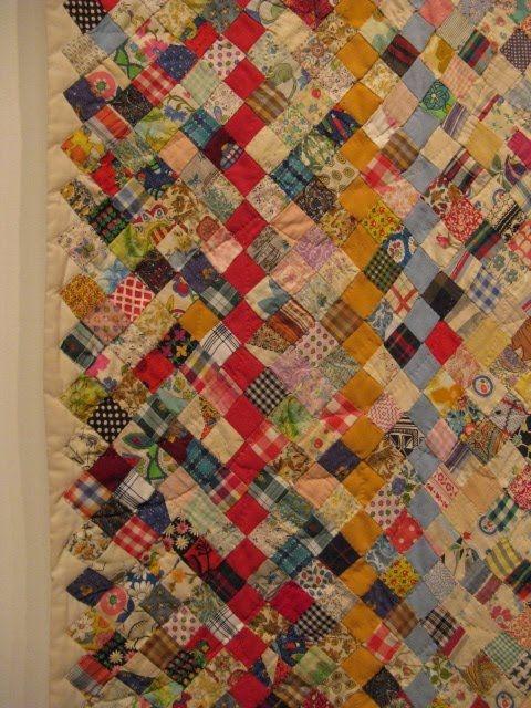 Stylish scrap quilt c 1920 1930 detail san jose quilt museum 1920 Quilt Pattern