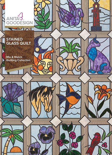 Stylish stained glass quilt 11 Stylish Stained Glass Quilting Patterns Inspirations