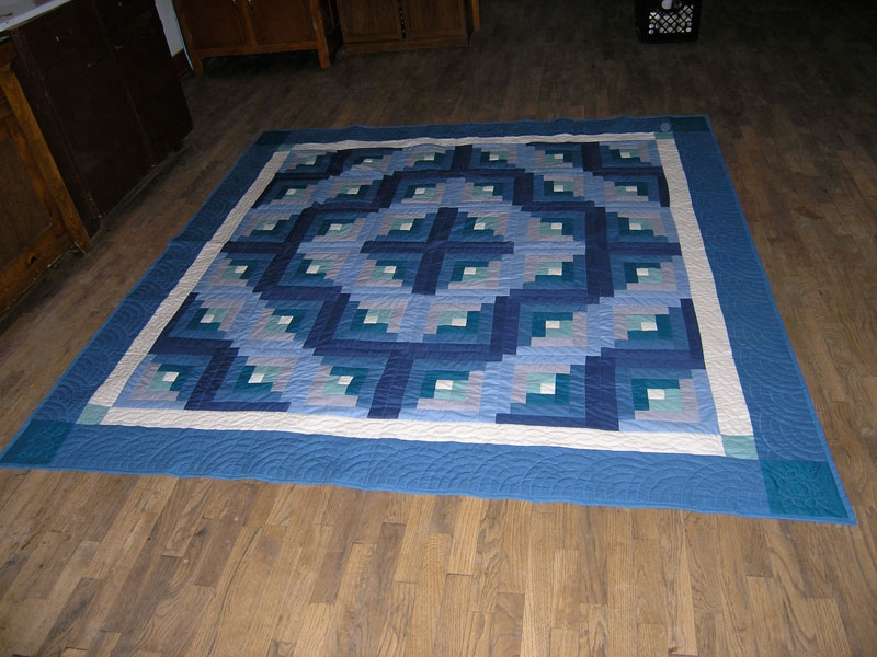 Unique blue sunshine shadow quilt branch hill joinery 10 Cozy Quilt Sunshine Shadow