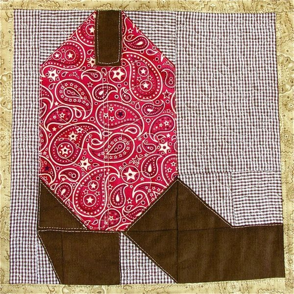 Unique cowboy boot quilt block pattern instant digital pdf 9 Cozy Cowboy Boots Quilt Pattern