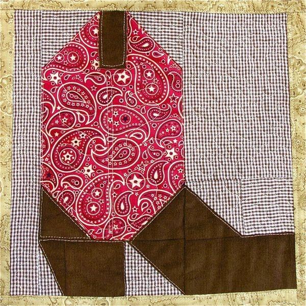 Unique cowboy boot quilt block pattern instant digital pdf 9 Cozy Cowboy Boots Quilt Pattern