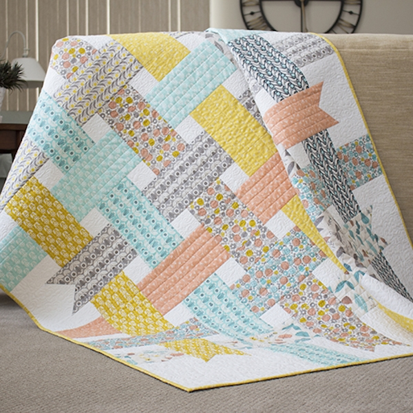 Unique free modern quilt patterns u create 9 Stylish Modern Quilt Block Patterns