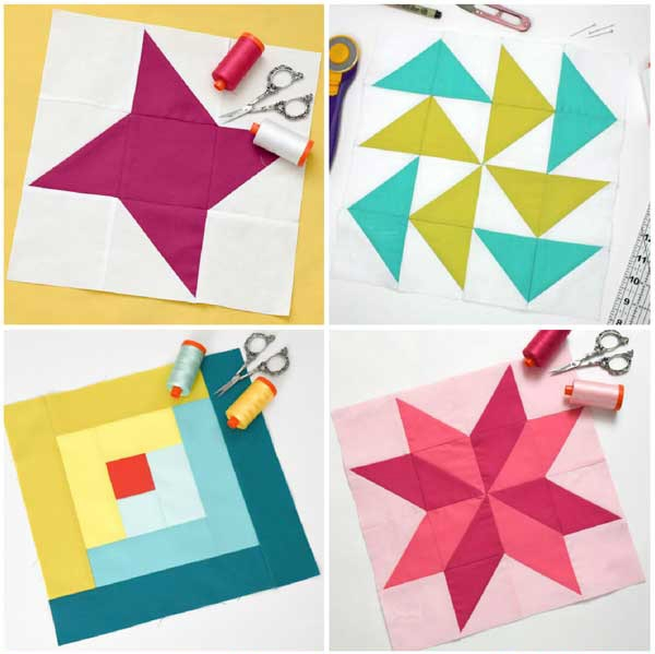Unique how to make a perfect sawtooth star quilt block the 12.5 Quilt Block Patterns
