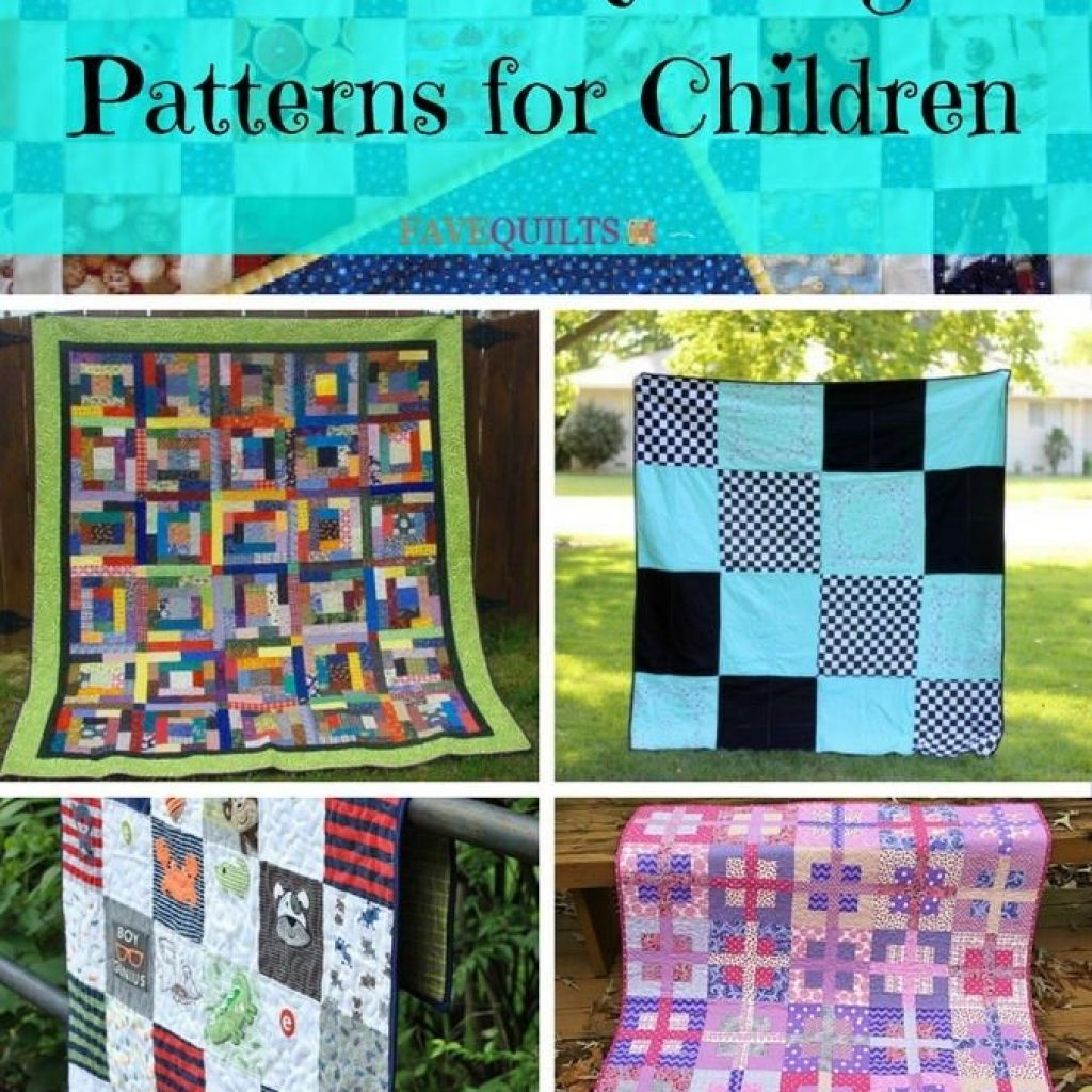 Unique pin on kid quilts 11 New Easy Quilt Patterns For Kids Gallery