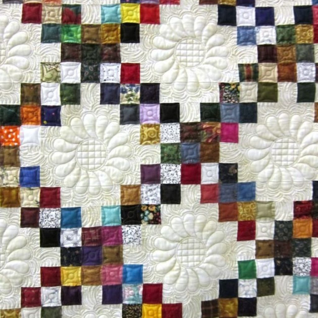 Unique pin on quilting 10   Double Irish Chain Quilt Pattern Queen