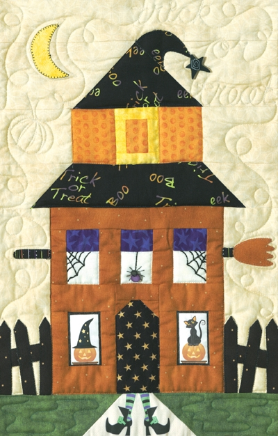 Unique quilt inspiration best of halloween 2012 sew spooky 11 Cool The Witch Is In Quilt Pattern Inspirations