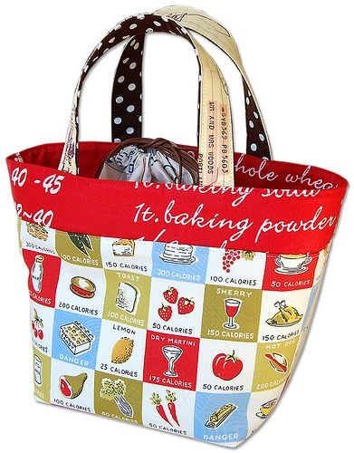 Unique quilt inspiration free pattern day tote bags lunch bag 11 New Quilted Lunch Bag Pattern Inspirations