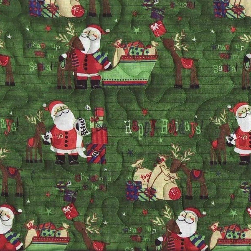 Unique stockings pre quilted melinda39s fabric shop Unique New Pre Quilted Christmas Fabric Gallery