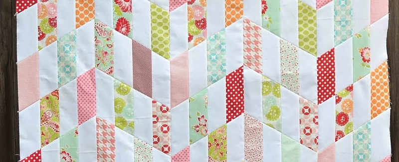 Unique the cutest quilt patterns chevron edition seams and scissors 10   Chevron Quilt Pattern Using Rectangles Gallery
