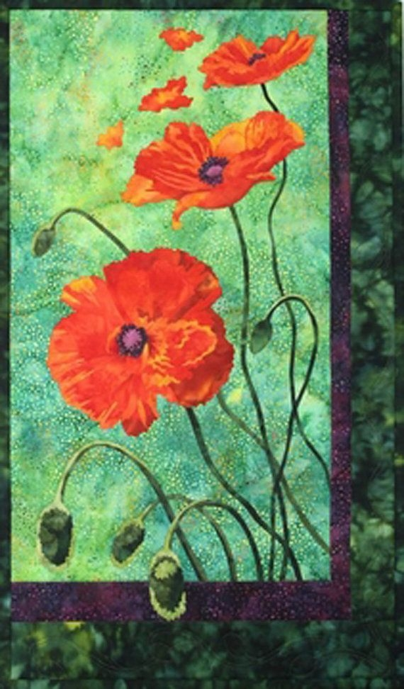 Unique toni whitney designs quilt kit poppies undercoverquilts 9   Toni Whitney Quilt Patterns Gallery