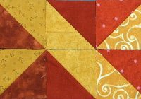 10 border designs made with half square triangles part 2 Cozy Quilt Border Patterns Designs