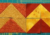 10 border designs made with half square triangles part 2 Interesting Triangle Quilt Border Pattern Gallery