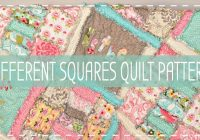 10 free rag quilt patterns tutorials for beginners Cool Rag Quilt Patterns For Beginners Gallery