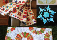 10 modern flower quilt patterns youll love Cozy Flower Quilt Block Patterns