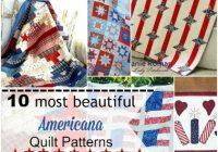 10 most beautiful americana quilt patterns diy crush Americana Quilt Patterns Gallery