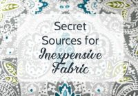 10 secrets for finding incredibly cheap fabric lovely etc Modern Lovely Quilt Fabric Closeouts Ideas Inspirations