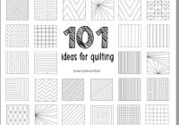 101 ideas for straight line quilting sugaridoo Straight Line Quilting Patterns Inspirations