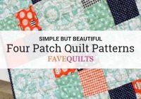 11 four patch quilt patterns simple patchwork quilts Elegant Simple Patchwork Quilt Patterns