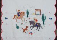 113 best vintage applique ba quilts images on pinterest ba Interesting Vintage Cowboy Quilt Gallery