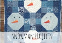 12 free snowman quilts projects patchwork posse 11 Stylish Snowman Quilt Pictures