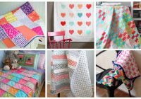 15 simple and beautiful quilt patterns for beginners ideal me Cool Easy Quilting Patterns For Beginners