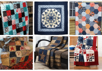 16 country quilts you can make this fall ideal me Unique Types Of Quilting Patterns Gallery