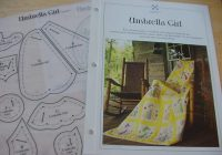 1993 umbrella girl quilt pattern and plastic template oxmoor house best loved quilt patterns quilting Elegant Umbrella Girl Quilt Pattern