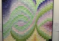 20 carrefour europen du patchwork francie bargello 10 New Northern Lights Quilt Pattern